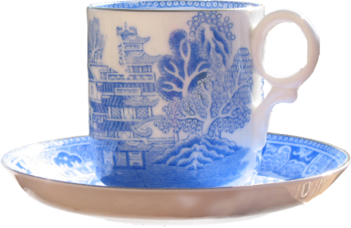 Blue Willow Heaven Coffee